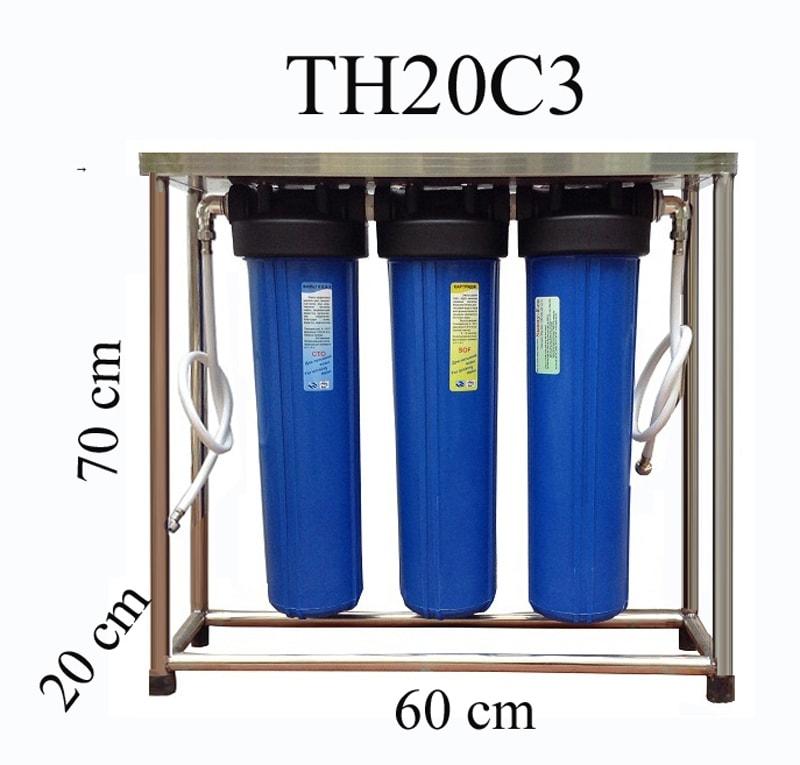 Máy lọc nước sinh hoạt không dùng điện và uống ngay TH20C3