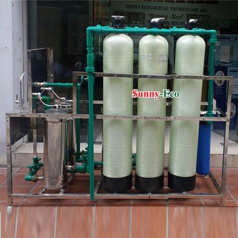 Hệ thống lọc nước D20HS-2 ba cột composit