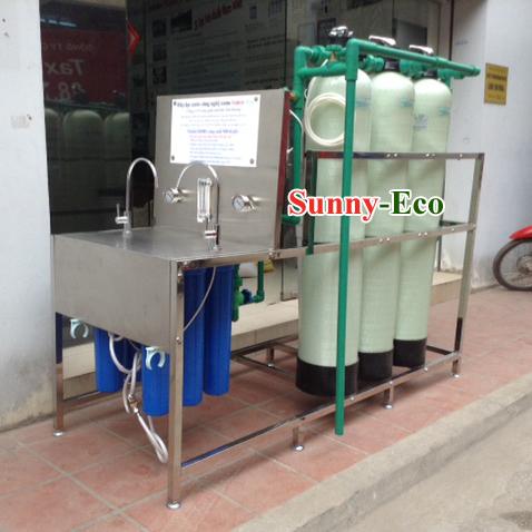 Hệ thống lọc nước uống ngay công suất lớn D20HS-B