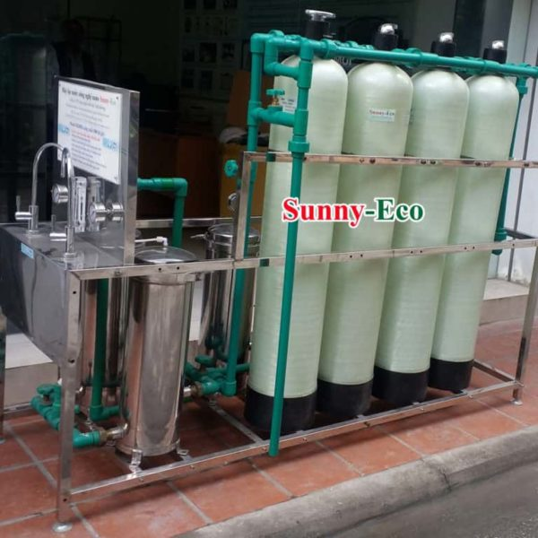Hệ thống lọc nước uống ngay công suất lớn Sunny-Eco D20HS3