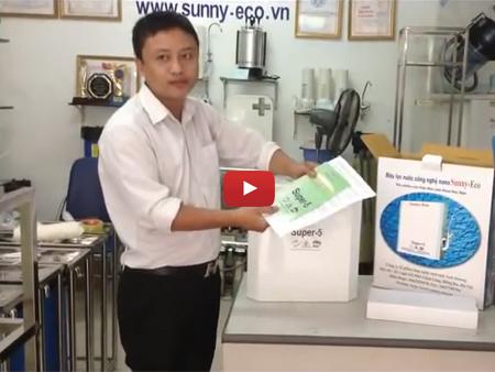 Hướng dẫn lắp đặt máy lọc nước nano Sunny-Eco Super-5