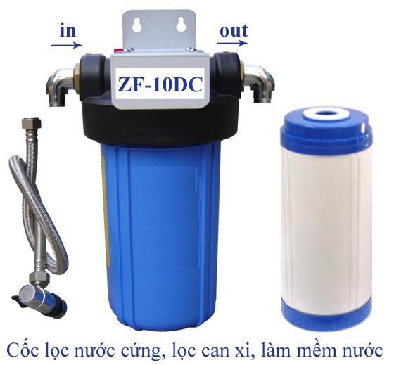 Thiết bị lọc nước cứng làm mềm nước Sunny-Eco ZF-10DC