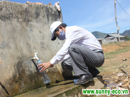 Hướng dẫn chi tiết quy trình lấy mẫu nước xét nghiệm