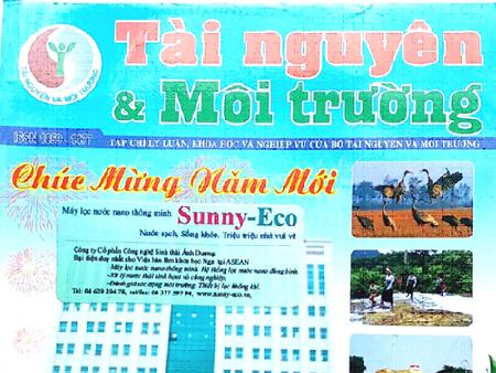 Máy lọc nước nano thông minh Sunny-Eco, sản phẩm công nghệ hàng đầu Việt nam