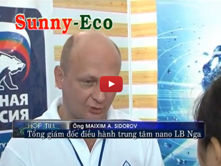 Phỏng vấn máy lọc nước nano Sunny-Eco trên kênh VITV