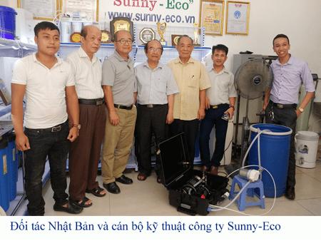 Hợp tác Sunny-Eco  Nhật Bản, Máy lọc nước biển xách tay chuẩn Nhật bản 100%