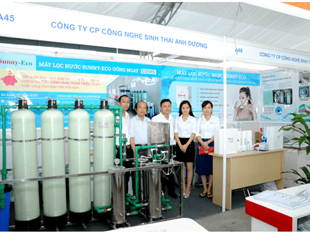 Thế nào là Hệ thống lọc nước nano Sunny-Eco công suất lớn D20HS?