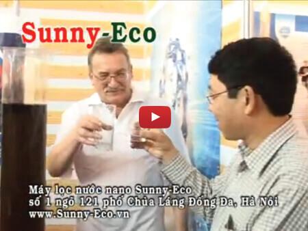 Máy lọc nước nano Sunny-Eco lọc được nước cực bẩn