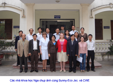 Sunny-Eco đại diện duy nhất của Viện Hàn Lâm Khoa Học  Nga tại Việt Nam và ASEAN