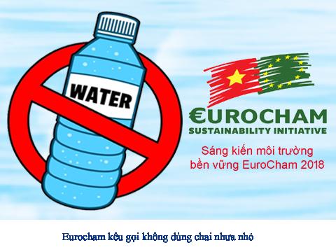 Sáng kiến ngưng việc dùng chai nhựa nhỏ của EuroCham