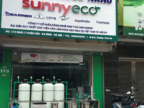 Sunny-Eco bàn giao hệ thống lọc nước công nghệ nano
