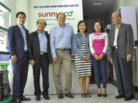Tomsk và Sunny-Eco Jsc. cùng chế tạo máy lọc nước công nghệ mới 2019 cho vùng ASEAN