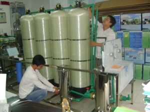 Hệ thống lọc nước nano đóng bình và chai D20HS-BC
