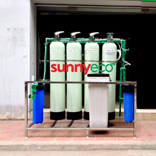 Hệ thống lọc nước công nghiệp công suất lớn