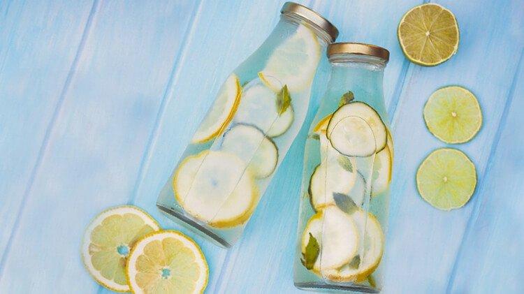 Nước chanh thanh lọc cơ thể