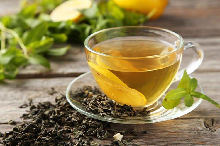 Giảm stress bằng trà xanh