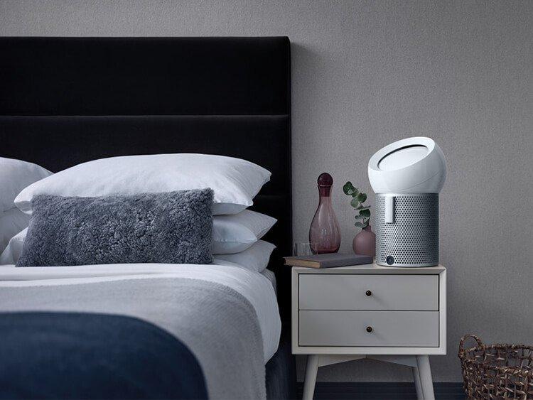 Bố trí phòng ngủ khi không khí ô nhiễm