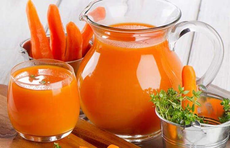 Nước ép cà rốt là một trong các loại nước ép rau củ tốt cho sức khỏe