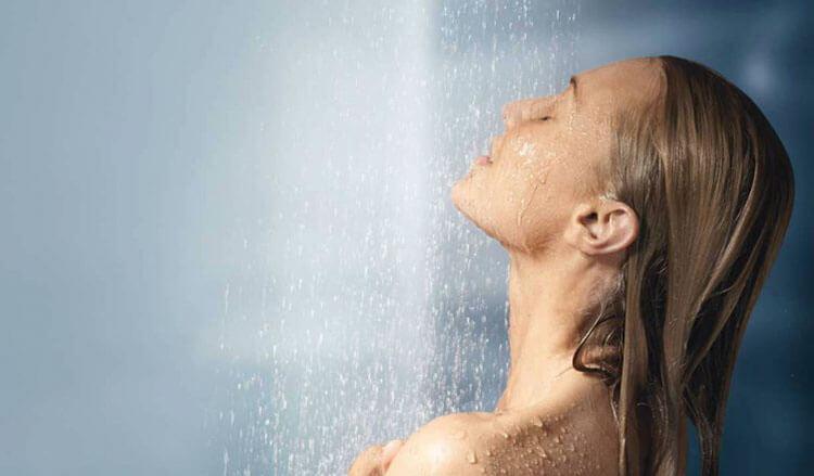 Tắm nước nóng trước khi ngủ