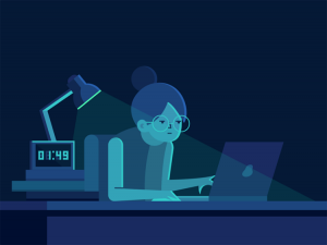 Thức khuya có hại gì với cơ thể?