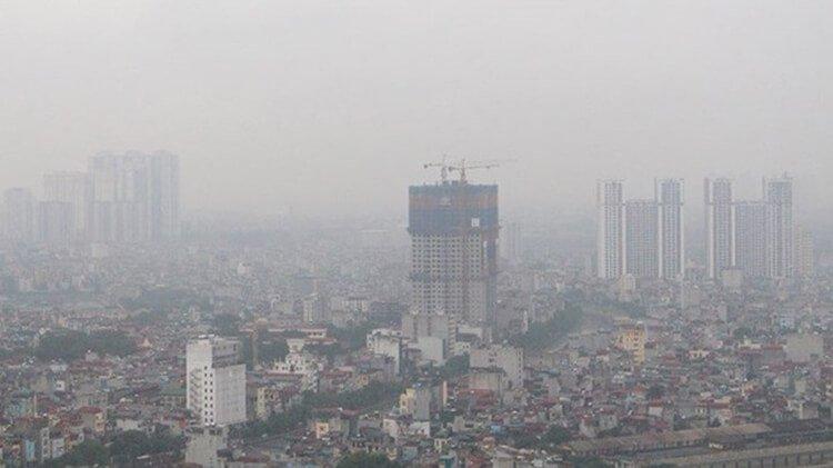 Thực trạng ô nhiễm không khí tại Hà Nội