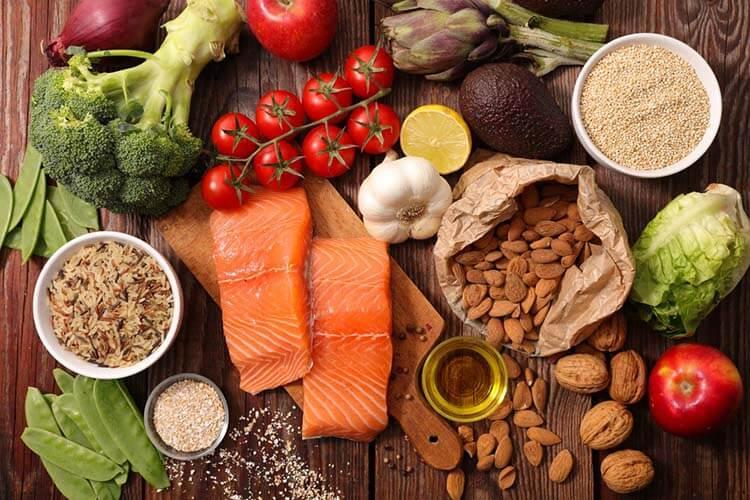 Chế độ ăn uống lành mạnh đa dạng