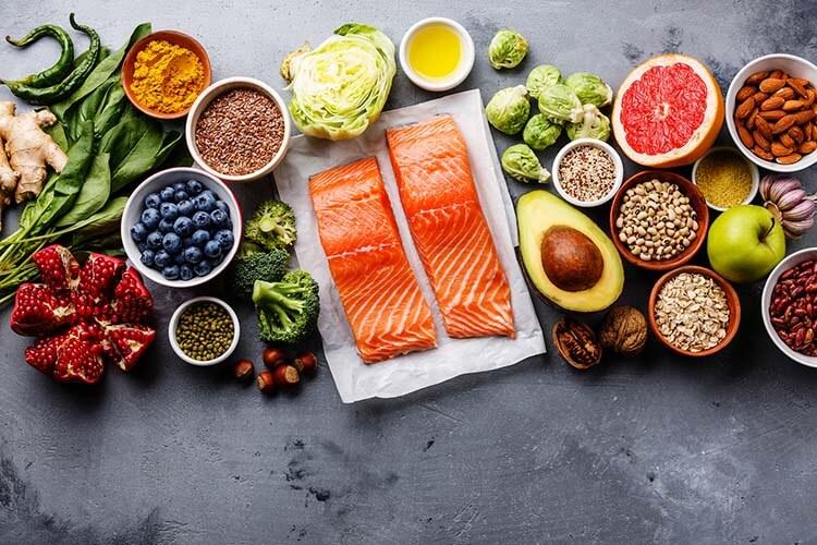 Chế độ ăn uống lành mạnh giàu chất xơ