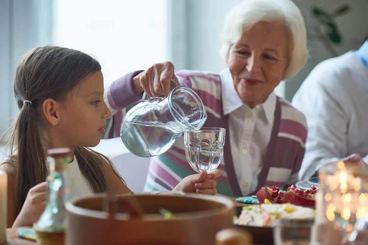 Chế độ ăn uống lành mạnh không chứa đồ uống có cồn