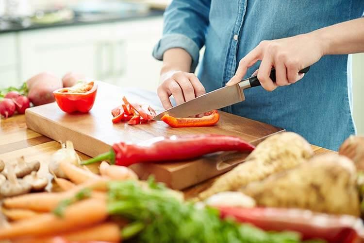 Chế độ ăn uống lành mạnh không chứa thực phẩm đã qua chế biến