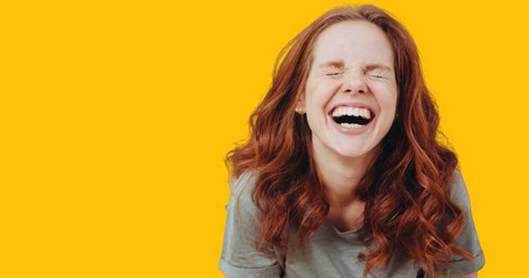 Ngủ ít vẫn khỏe khi cười to thành tiếng