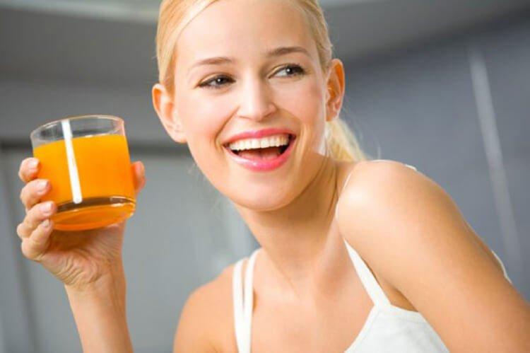 Nước ép cà rốt tăng cường chức năng miễn dịch