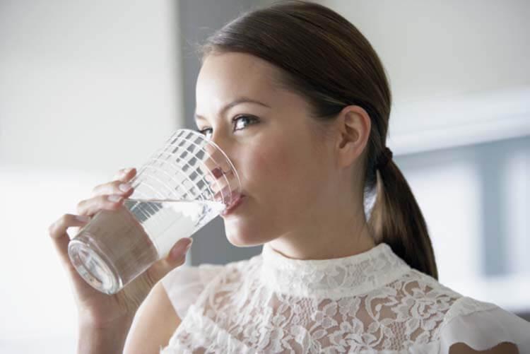 Nước sạch đảm bảo cho làn da khỏe đẹp