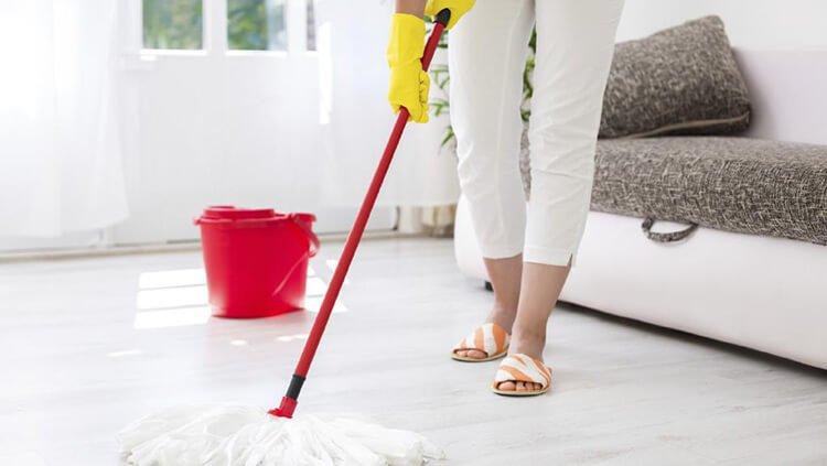 Tiết kiệm nước khi dọn dẹp nhà cửa