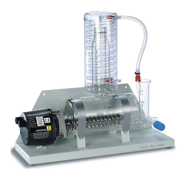 Cách thử nghiệm nước cất như thế nào?
