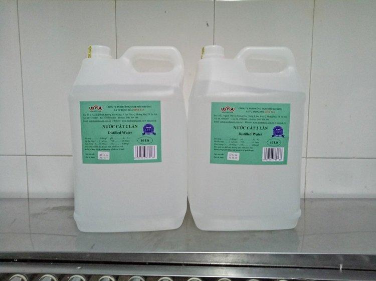 Quy định về nước cất trong phòng thí nghiệm như thế nào?