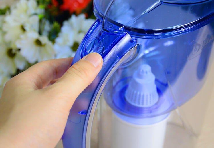 Bình lọc nước kích thước nhỏ gọn