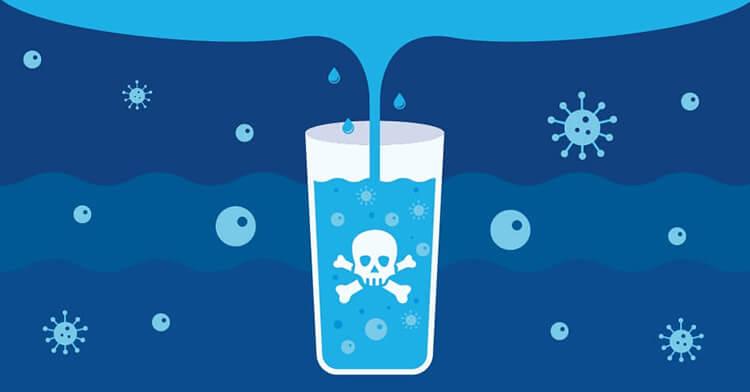 Chất gây ô nhiễm hóa học trong nước máy