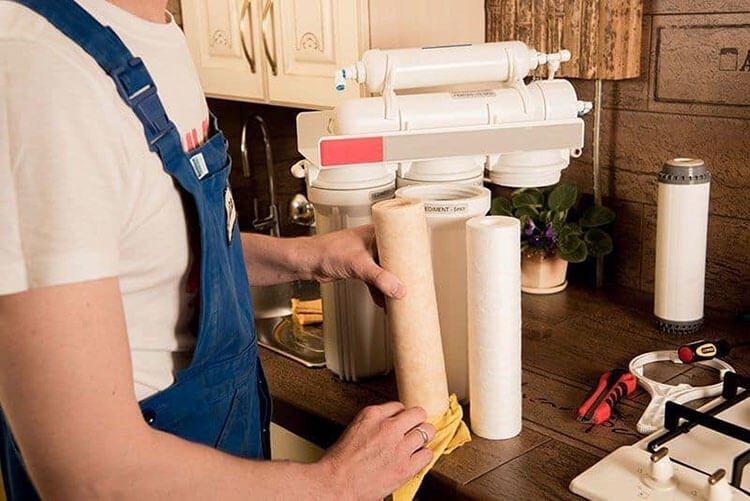 Điều nên làm khi sửa máy lọc nước