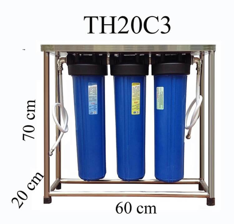 Cấu tạo hệ thống lọc nước gia đình nhỏ gọn từ Sunny-Eco