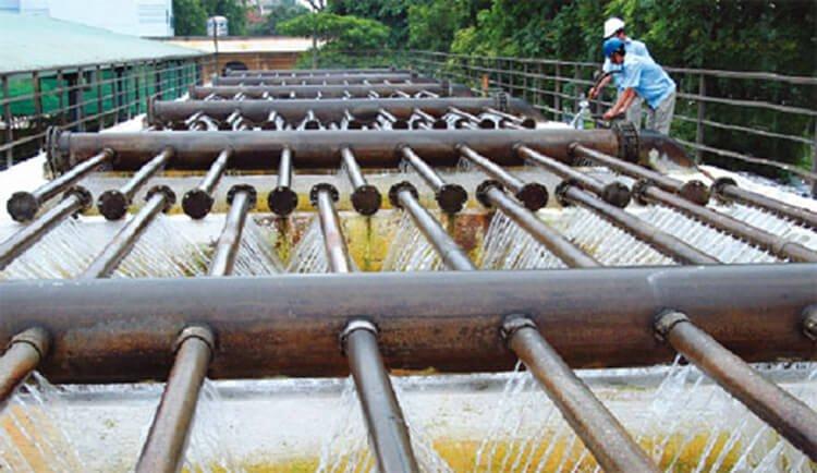Đơn vị xử lý nước máy