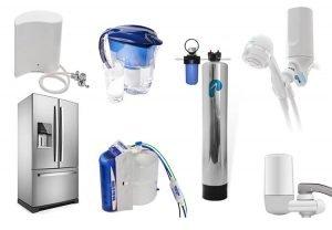 Thiết bị lọc nước trên thị trường